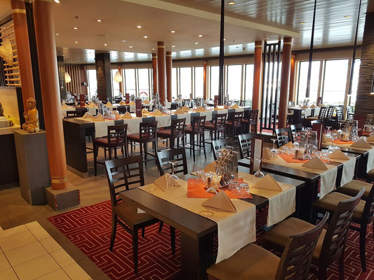East Restaurant auf Deck 11