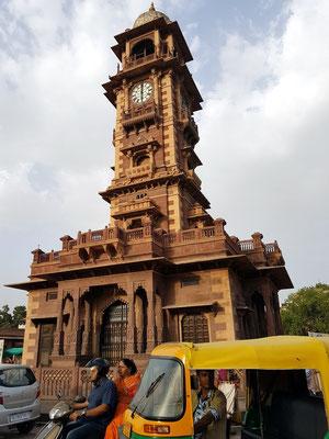 Uhrturm in Jodhpur (1912)