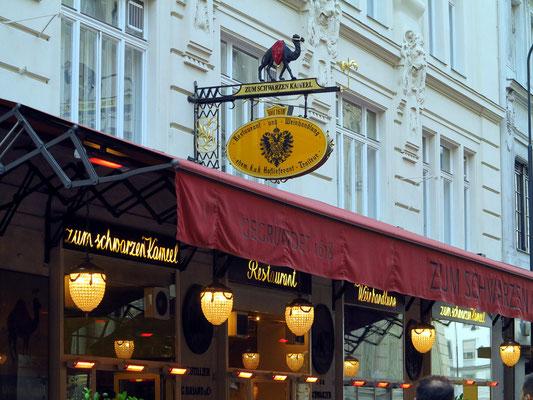 Restaurant Zum Schwarzen Kameel, Bognergasse 5