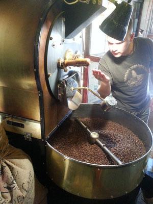 Lviv Coffee Mining Manufacture, Kaffeerösten