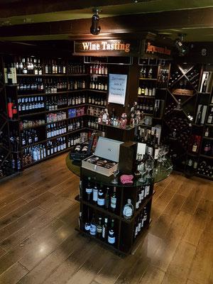 Weinhandlung in der Altstadt
