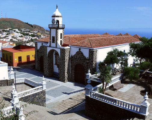 Valverde, Hauptkirche Santa María de la Concepción, (18. Jh.)
