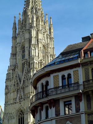 Stephansdom und Konservatorium für Kirchenmusik der Erzdiözese Wien, Stock-im-Eisen-Platz 1