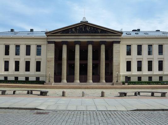 Universitätsplatz an der Karl Johans Gate