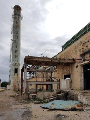 Ruine eines ehemaligen Industriegeländes