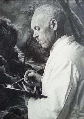 Richard Rudolph, Kunstmaler, Almuts Großvater