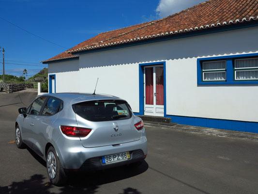 Norte Pequeno, unser Mietwagen Renault Clio
