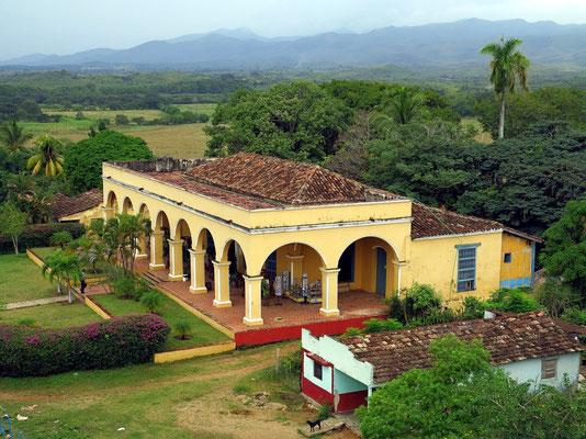 Iznaga, Herrenhaus der Hacienda Iznaga