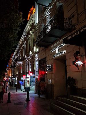 Rustaveli Avenue mit Hotel Rustaveli