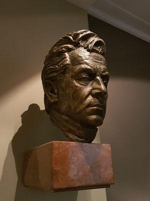 Bronzebüste von Herbert von Karajan, Generalmusikdirektor in Aachen, 1935-1942