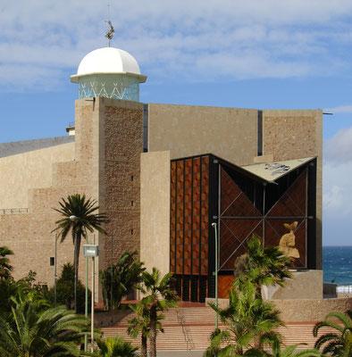 Las Palmas, Auditorio Alfredo Kraus am Westende der Playa de las Canteras