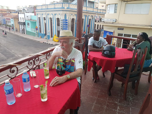 Restaurant an der Plaza de Marte (an der Nordseite des Platzes)