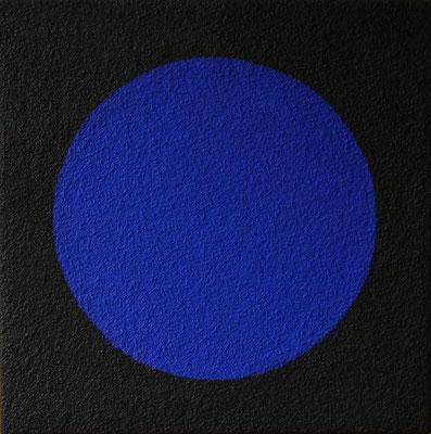 Magischer Kreis, Acryl und Sand auf Holz, 50 x 50 cm, 2006