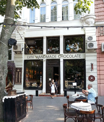 Lviv-Schokoladen-Café