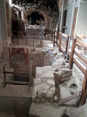Kathedrale von Matera, Ausgrabungen 2019