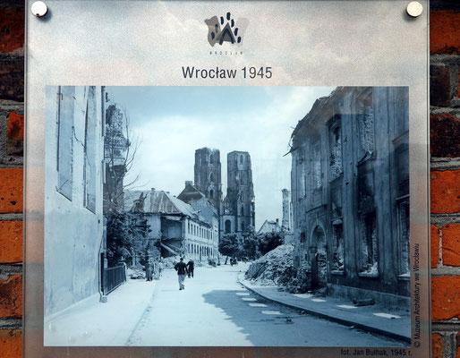 Breslau, Foto von 1945