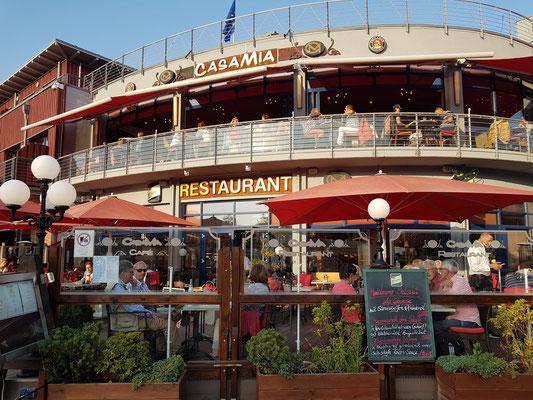 Mediterranes Restaurant Casa Mia am Alten Strom in Warnemünde