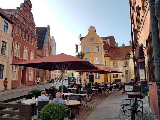 Fährstraße in der Altstadt von Stralsund