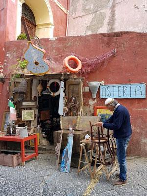 Restaurator in der Via Principe Umberto
