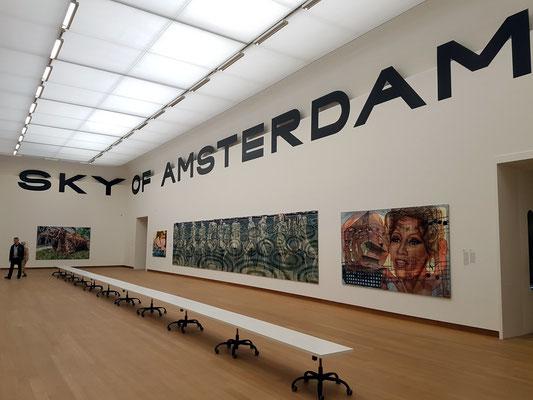 Stedelijk Museum, Sonderausstellung Jana Euler, 20.5. - 15.10.2017, Saal SKY OF AMSTERDAM