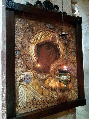 Ikone in der Kathedrale der Geburt der seligen Jungfrau Maria