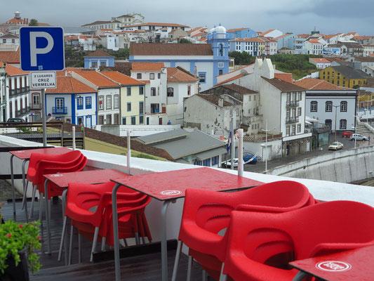 Blick von der Rua da Rocha auf die Igreja da Misericórdia
