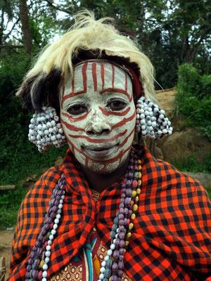 Stamm der Kikuyu, eine bantusprachige ethnische Gruppe