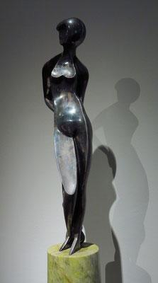 """Alexander Archipenko (1884 - 1964): """"Grazie (Glorifizierung der Schönheit)"""", Bronze, 1926"""