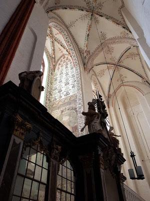 St. Marien. Fresken aus dem 15. Jahrhundert