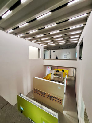 Innenarchitektur des Bauhaus-Museums