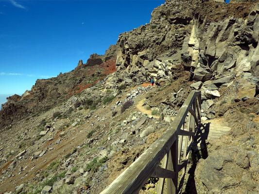 Wanderweg am Mirador de los Andenes (2276 m)