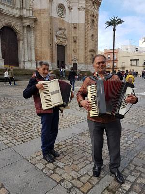 Auf der Plaza de Catedral