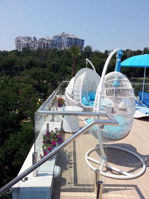 Hotel Nemo, Dachgarten