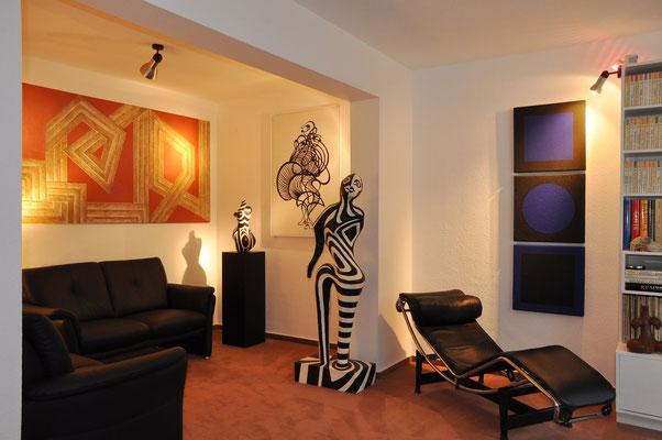 Wohnzimmer mit ehemaliger Kaminecke