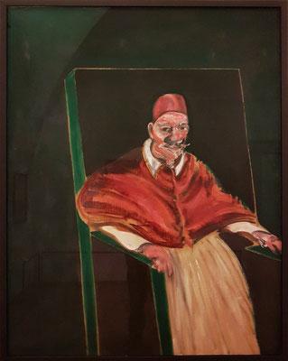 Francis Bacon (1909-1992): Studie für einen Papst II, 1961, Öl auf Leinwand