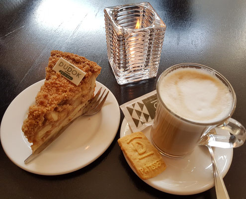 Café Brasserie Dudok mit dem besten Apfelkuchen in Rotterdam