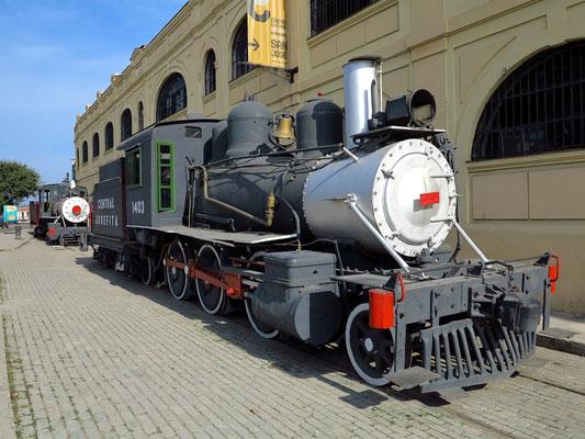 Eisenbahnmuseum am Hafen