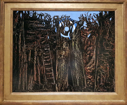 Max Ernst (1891-1976, DE): Petrified Forest, 1927 (The National Museum of Western Art, Tokyo)