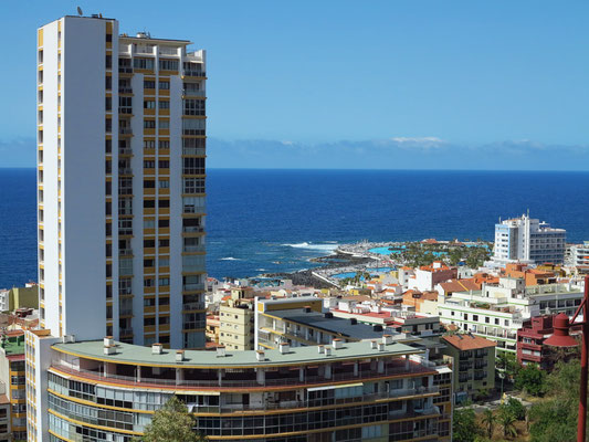 Edificio Bel Air, altes Apartmenthaus in Puerto de la Cruz