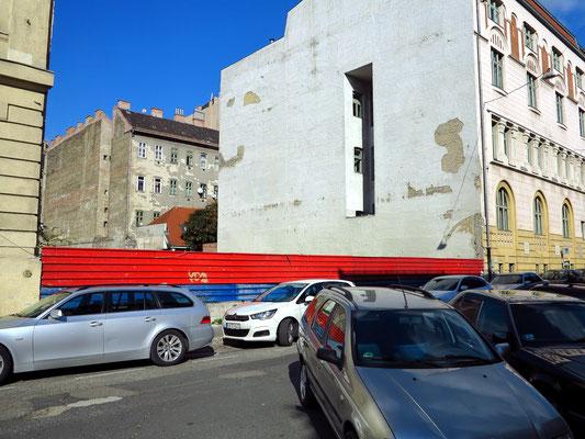 Straßenabschnitte in der Nähe des Hauptbahnhofs
