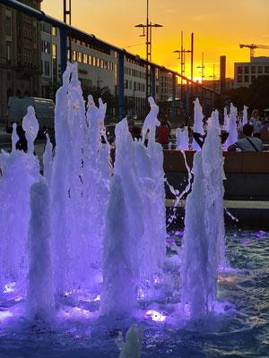 Wasserspiele Brunnenbau Wilschdorf am Kulturpalast
