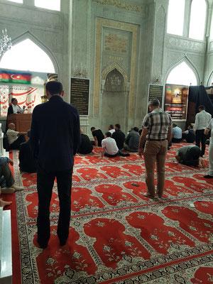 Gebetsraum für Männer