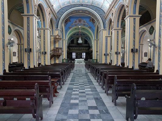 Kirchenschiff der Santa Basílica Metropolitana Iglesia Catedral