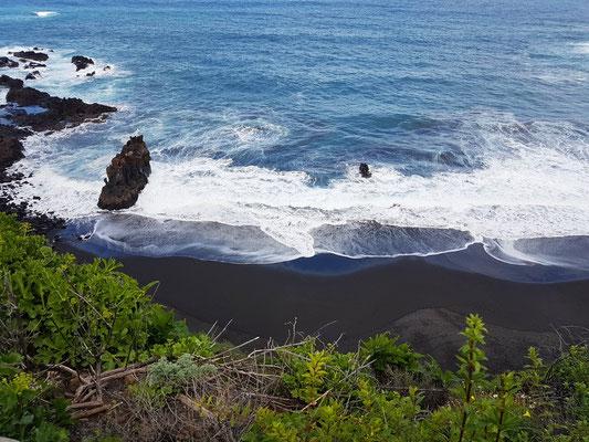 Blick auf die Playa de Bollullo