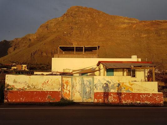 An der Avenida Marítima von Valle Gran Rey