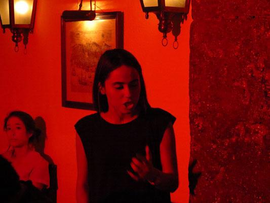 Maria Emilia im Clube de Fado, Lissabon