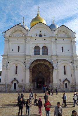 Erzengel-Michael-Kathedrale, Grabstätte der Moskauer Großfürsten und Zaren