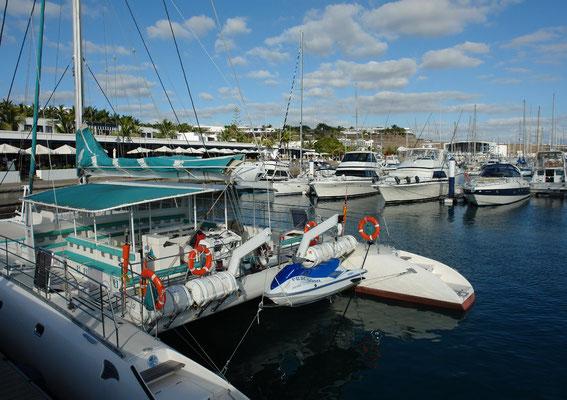 Puerto Calero mit Yachthafen