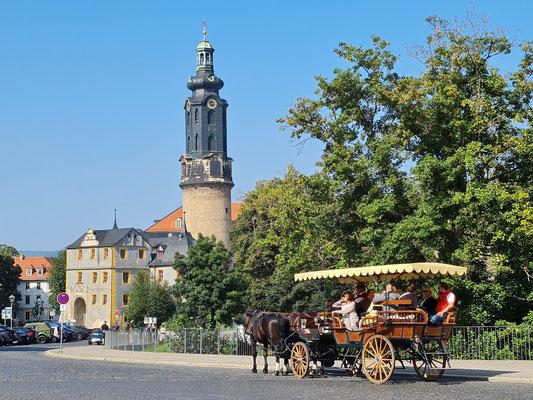 Weimarer Residenzschloss, Schlossturm und Bastille