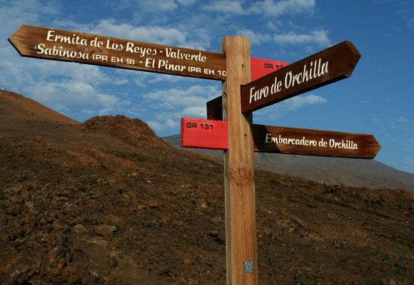 Hierro ist mit einem Netz von markierten Wegen ein Eldorado für Wanderer.